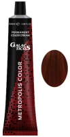 Galacticos Professional Metropolis Color - 7/44 Copper blond intensive средне-русый насыщенный медный крем краска для волос