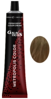 Galacticos Professional Metropolis Color - 8/0 Light blond светло-русый крем краска для волос