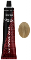 Galacticos Professional Metropolis Color - 9/0 Very light blond блондин крем краска для волос