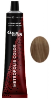 Galacticos Professional Metropolis Color - 9/13 Very light ash-golden blond блондин пепельно-золотистый крем краска для волос