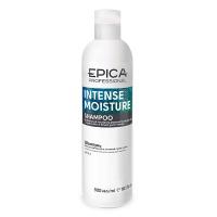 Epica Professional увлажняющий шампунь для сухих волос с маслом какао и экстрактом зародышей пшеницы Intense Moisture