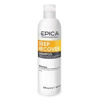 Epica шампунь для поврежденных волос с маслом сладкого миндаля и экстрактом ламинарии Deep Recover