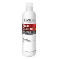 Epica шампунь для окрашенных волос с маслом макадамии и экстрактом виноградных косточек Rich Color