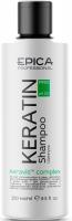 Epica шампунь для реконструкции и глубокого восстановления волос с гидролизованным кератином, комплексом Keravis и аминокислотами Keratin Pro
