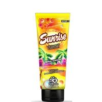 """SolBianca Крем для загара в солярии """"Sunrise"""" с маслом апельсина, экстрактом алоэ и бронзаторами, 125 ml"""
