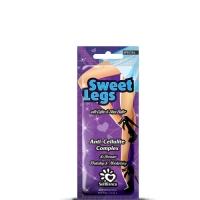 """SolBianca Крем для загара в солярии """"Sweet Legs"""" для ног с маслом кофе, маслом Ши и бронзаторами, 15 ml"""