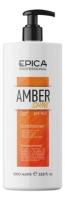 Epica Professional кондиционер для восстановления и питания Amber Shine Organic