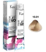 Kezy Color Vivo No Ammonia - 10.01 Экстра светлый блондин натуральный пепельный, 100 мл