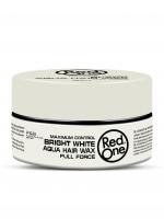 RedOne аква воск для волос ультрасильной фиксации Aqua Hair Wax BRIGHT WHITE