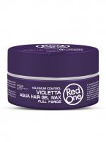 RedOne аква гель-воск для волос ультрасильной фиксации Aqua Hair Gel Wax VIOLETTA