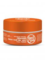 RedOne аква гель-воск для волос ультрасильной фиксации Aqua Hair Gel Wax ORANGE