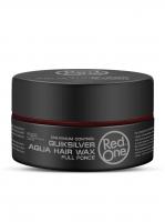 RedOne аква воск для волос ультрасильной фиксации Aqua Hair Wax QUIKSILVER
