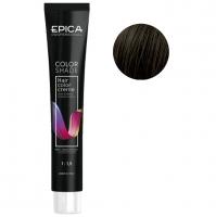 Epica Professional крем-краска 4.07 шатен шоколад холодный Brown Choco Cold