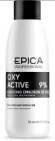 Epica Professional кремообразная окисляющая эмульсия  с маслом кокоса и пантенолом 9 % (30 vol) Oxy Active