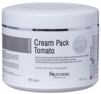 Skindom крем-маска с экстрактом томата Cream Pack Tomato