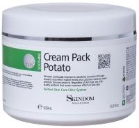 Skindom крем-маска с экстрактом картофеля Cream Pack Potato