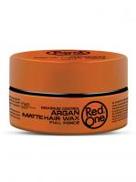 RedOne матовый воск для волос ультрасильной фиксации с Аргановым маслом Matte Hair Wax ARGAN
