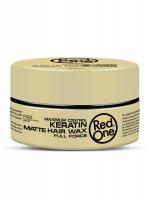 RedOne матовый воск для волос ультрасильной фиксации с Кератином Matte Hair Wax KERATIN