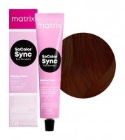 Matrix SoColor Sync Pre-Bonded - 3WN темный шатен теплый натуральный, 90 мл
