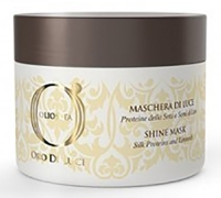 Barex Italiana Olioseta Oro Di Luce Shine Mask - Маска-блеск с протеинами шелка и семенем льна