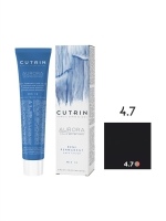 Cutrin Aurora Demi - Безаммиачный краситель 4.7 Черный кофе