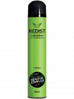 REDIST Professional лак для волос с кератиновым комплексом экстрасильной фиксации Hair Spray Care&Styling KERATIN COMPLEX