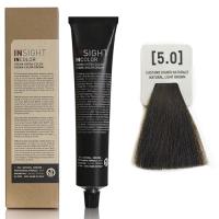 Insight InColor - 5.0 Перманентный краситель светло-коричневый натуральный, 100 мл
