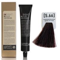 Insight InColor - 5.66 Перманентный краситель красный интенсивный светло-коричневый, 100 мл