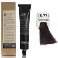 Insight InColor - 5.77 Перманентный краситель фиолетовый интенсивный светло-коричневый, 100 мл
