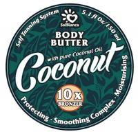 SolBianca Body Butter - Твердое масло-автозагар для тела