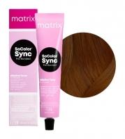Matrix SoColor Sync Pre-Bonded - 5WN светлый шатен теплый натуральный, 90 мл