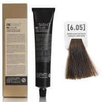 Insight InColor - 6.05 Перманентный краситель шоколадный темный блондин, 100 мл