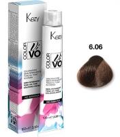 Kezy Color Vivo No Ammonia - 6.06 Темный блондин мокко, 100 мл