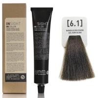 Insight InColor - 6.1 Перманентный краситель пепельный темный блондин, 100 мл