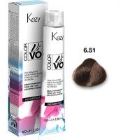 Kezy Color Vivo No Ammonia - 6.51 Темный блондин грецкий орех, 100 мл