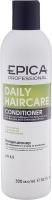 Epica Professional шампунь для ежедневного ухода за волосами с маслом бабассу и экстрактом зеленого чая Daily Care