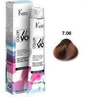 Kezy Color Vivo No Ammonia - 7.06 Блондин карамельный, 100 мл