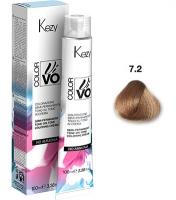 Kezy Color Vivo No Ammonia - 7.2  Блондин бежевый, 100 мл