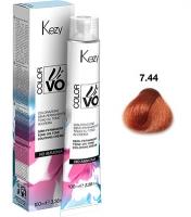 Kezy Color Vivo No Ammonia - 7.44 Блондин медный интенсивный, 100 мл