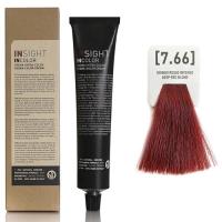 Insight InColor - 7.66 Перманентный краситель красный интенсивный блондин, 100 мл