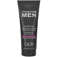 OLLIN Premier for men Шампунь для роста волос стимулирующий 250 ml