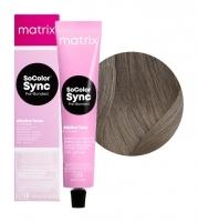Matrix SoColor Sync Pre-Bonded - 7NV блондин натуральный перламутровый, 90 мл