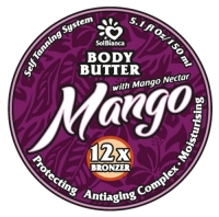 """SolBianca Body Butter - Твердое масло-автозагар для тела """"Манго"""""""