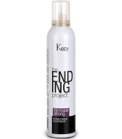 Kezy The Ending Project Increase Mousse Strong - Моделирующий мусс для объема и фиксации