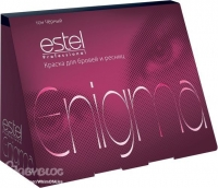 Estel Professional Enigma - Краска для бровей и ресниц 6