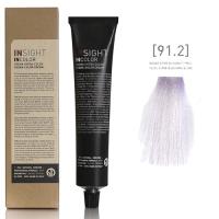 Insight InColor - 91.2 Перманентный краситель супер осветляющий пепельно-перламутровый блондин, 100 мл