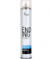 Kezy The Ending Project Ending Glossy Finishing Spray Firm Hold - Спрей-лак надежной фиксации