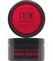 American Crew Cream Pomade - Крем-помада с легкой фиксацией и низким уровнем блеска