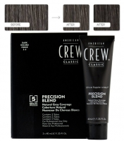 Аmerican Сrew Precision Blend - 2/3 темный натуральный