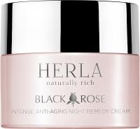 Herla интенсивный антивозрастной ночной крем Black Rose intense anti-aging night remedy cream